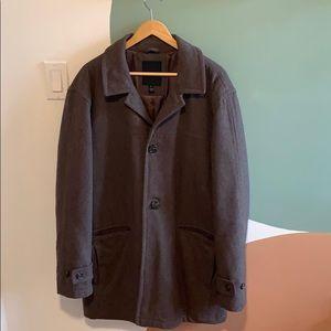 Men's London Fog Wool Coat